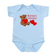 Mormor's Valentine Cartoon Bear Body Suit