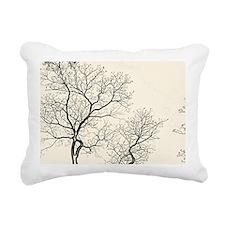 Cute Tree branch Rectangular Canvas Pillow