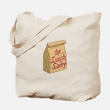 The Lunch Lady Tote Bag