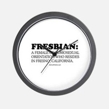 Fresbian definition Wall Clock