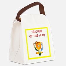 teacher Canvas Lunch Bag