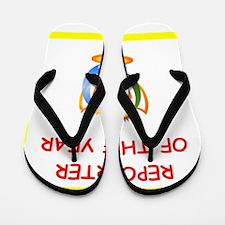 reporter Flip Flops