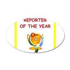 reporter Wall Decal