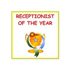 receptionist Sticker