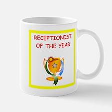 receptionist Mugs