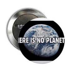 """There is no Planet B 2.25"""" Button (10 pack)"""