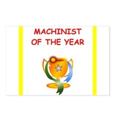 machinist Postcards (Package of 8)