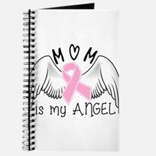 Breast Cancer Awareness Mom Is My Angel Journal