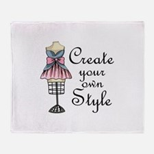 Create Your Own Style Throw Blanket