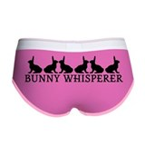 Bunny whisperer Ladies Boy Shorts