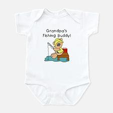 Grandpa's Fishing Buddy Infant Bodysuit