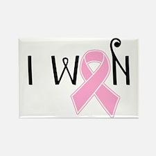 I Won Breast Cancer Awareness Magnets