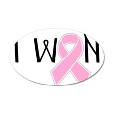 I WON Breast Cancer Awareness Wall Decal