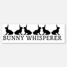 Bunny Whisperer Bumper Bumper Sticker