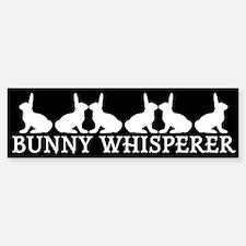 Bunny Whisperer Bumper Bumper Bumper Sticker
