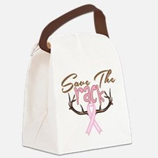 Save The Rack Breast Cancer Awareness Canvas Lunch