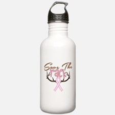 Save The Rack Breast Cancer Awareness Water Bottle
