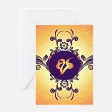 Mourning, the rune Greeting Cards