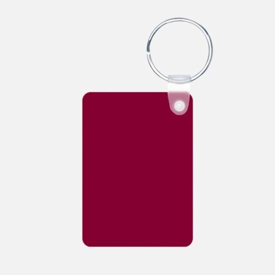 Solid red wine Keychains