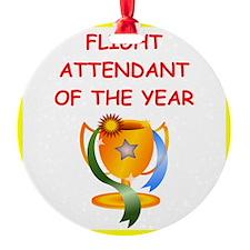 flight attendant Ornament