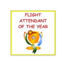 flight attendant Sticker