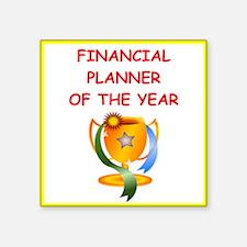 financial planner Sticker