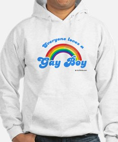Everyone loves a gay boy Hoodie Sweatshirt