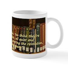 Subversive Librarians Small Mug