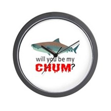 WILL YOU BE MY CHUM Wall Clock