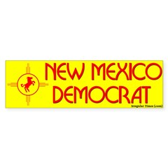 New Mexico Democrat Bumper Bumper Sticker