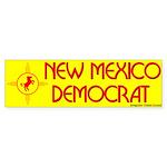 New Mexico Democrat Bumper Sticker