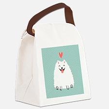 Pomeranian Love Canvas Lunch Bag