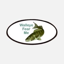 WALLEYE FEAR ME Patches