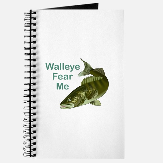 WALLEYE FEAR ME Journal