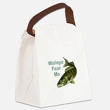 WALLEYE FEAR ME Canvas Lunch Bag