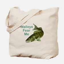 WALLEYE FEAR ME Tote Bag