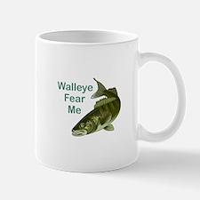 WALLEYE FEAR ME Mugs