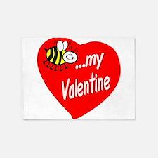 Bee My Valentine 5'x7'Area Rug