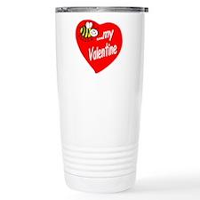 Bee My Valentine Travel Mug