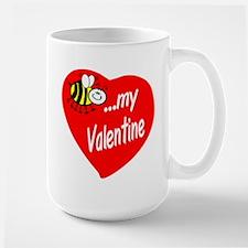 Bee My Valentine Mugs