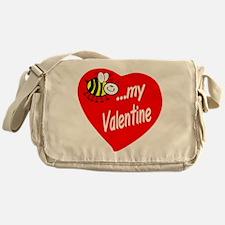 Bee My Valentine Messenger Bag