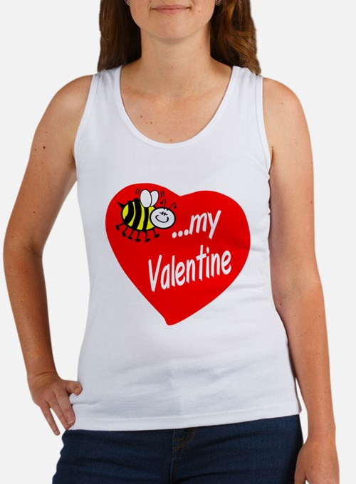 Bee My Valentine Tank Top