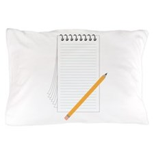 Pencil Notebook Pillow Case