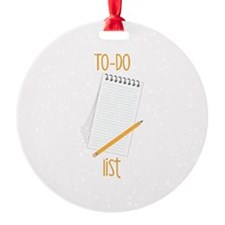 To-Do Ornament