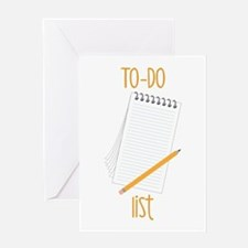 To-Do Greeting Cards