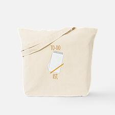 To-Do Tote Bag