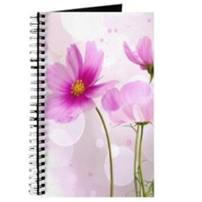 Pink Cosmos Flower Journal