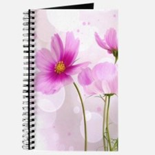 Pink Cosmos Flower Journal