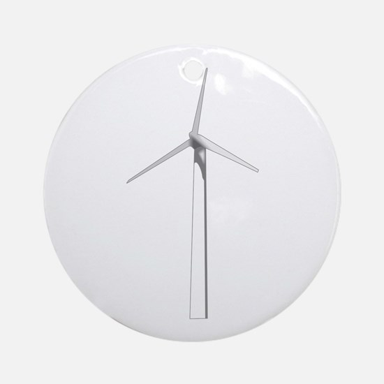 WIND TURBINE Ornament (Round)