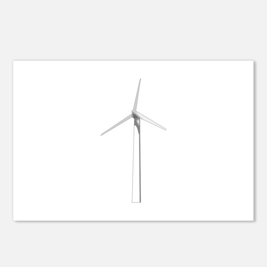 WIND TURBINE Postcards (Package of 8)